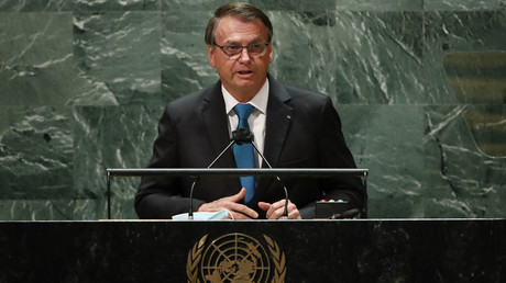 A la tribune de l'ONU, Jair Bolsonaro s'oppose au passeport sanitaire