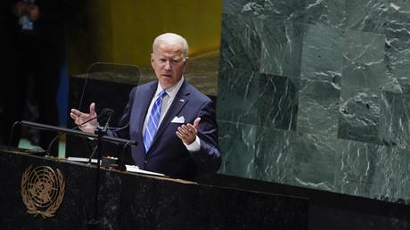 «Nous ne voulons pas d'une nouvelle guerre froide», affirme Joe Biden aux Nations unies