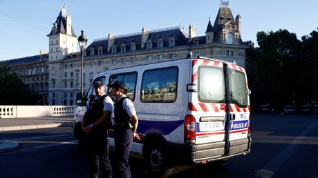 Policiers à Paris le 8 septembre 2021 (image d'illustration).