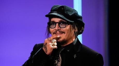 Johnny Depp au festival de Saint-Sébastien en Espagne le 22 septembre 2021