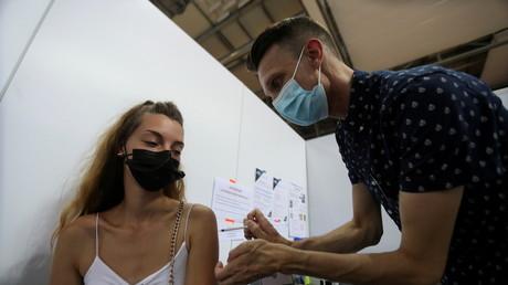 Centre de vaccination de Saint-Quentin-en-Yvelines à Montigny-le-Bretonneux le 13 août 2021 (image d'illustration).
