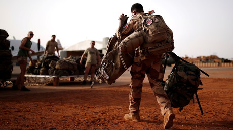 Des soldats français de l'opération Barkhane, le 1er août 2021, à Gao au Mali (image d'illustration).