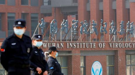 L'Institut de virologie de Wuhan (Hubei), en Chine, le 3 février 2021.