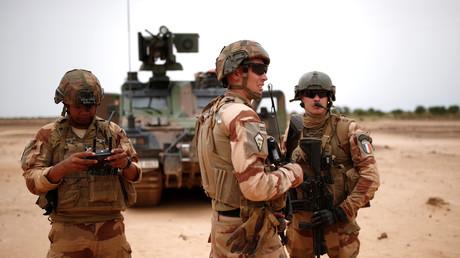 Des soldats français dans la région de Gourma au Mali dans le cadre de l'opération Barkhane en juillet 2019 (image d'illustration).