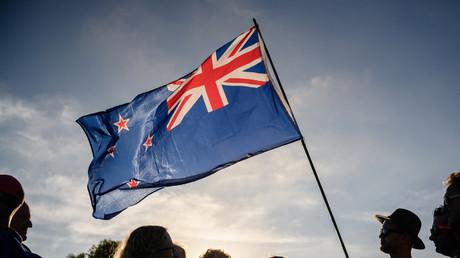 Le drapeau de la Nouvelle-Zélande, à Christchurch, le 24 mars 2019 (image d'illustration)