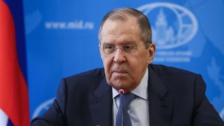 Sergueï Lavrov à Moscou, le 8 octobre 2021.