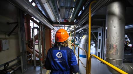Une employée de la centrale nucléaire de Kola dans la région de Murmansk en Russie (image d'illustration).