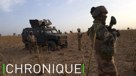 Un militaire français patrouille dans une zone rurale dans le nord du Mali, dans le cadre de l'opération Barkhane, en novembre 2019 (image d'illustration).