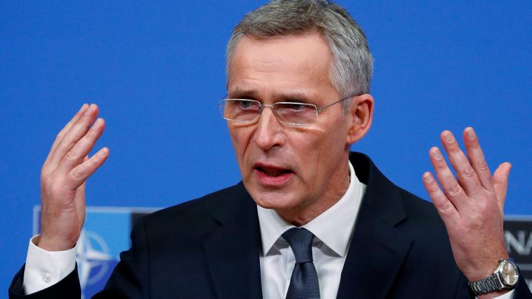 EUobserver: Столтенберг призвал Запад объединиться перед лицом «российско-китайской оси»