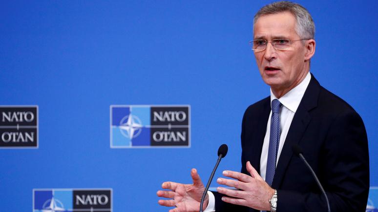 Столтенберг: усиление России не позволяет НАТО сократить военные расходы