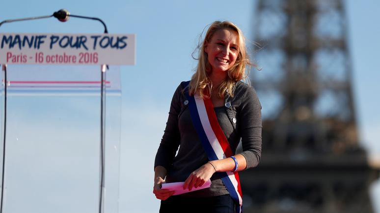 Le Figaro: «я не должна извиняться за то, что белая» — племянница Ле Пен ответила «борцам с расизмом» во Франции
