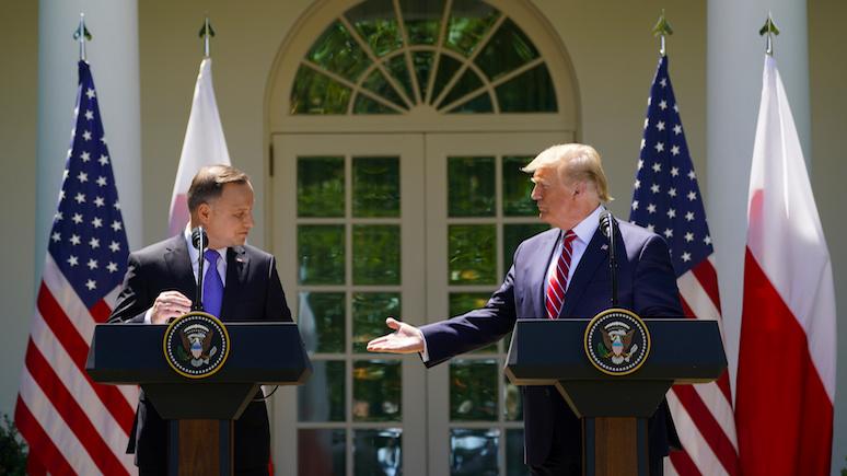 Polityka: судьба форта Трамп остаётся неясной — пока не пройдут выборы в Польше и США