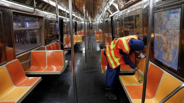 Das Erste: коронавирус очистил нью-йоркское метро от грязи — и избавил от пассажиров