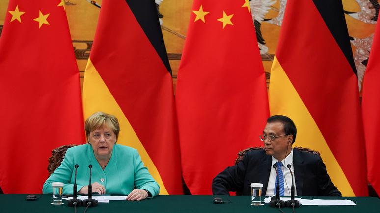 Handelsblatt: Европе нужна единая политика в отношении Китая