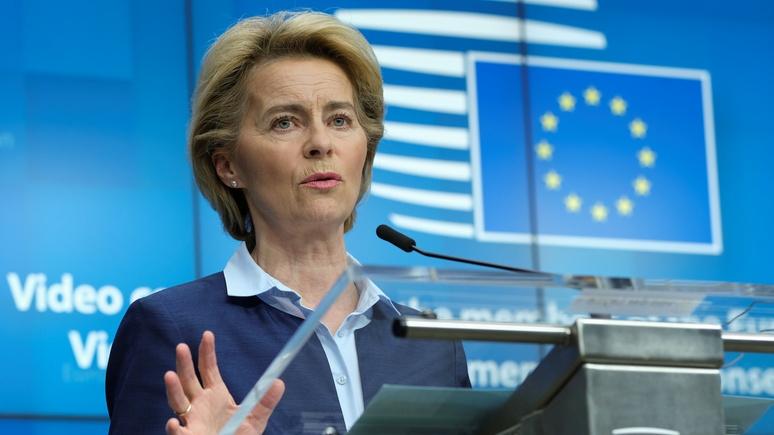 FAZ: глава Еврокомиссии требует от Италии реформ в обмен на финансовую помощь