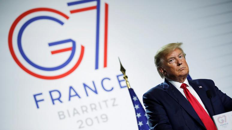 Japan Today: расширение G7 по Трампу может ослабить группу — Китаю на радость