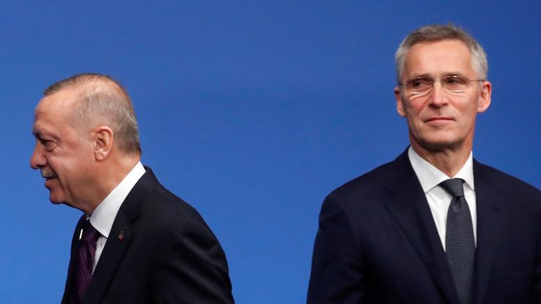 N-TV: Турция срывает тайный план НАТО по обороне от России