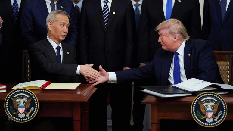 Эксперт National Interest: Трамп неправильно понимает китайскую угрозу