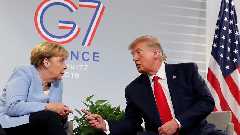 Der Tagesspiegel о политике Трампа по отношению к Германии: «лучшая защита — это нападение»