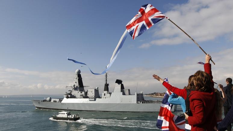 И британцы за всё это платят — DE о военном корабле, бесцельно простоявшем на ремонте 4 года