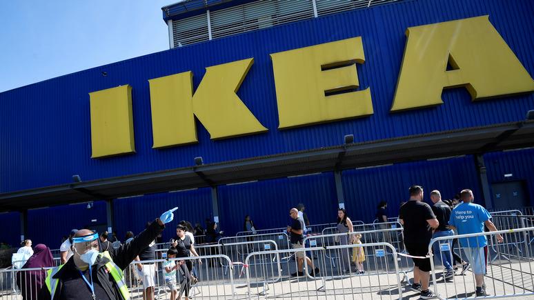 Корреспондент: IKEA разберётся со своими поставщиками с Украины