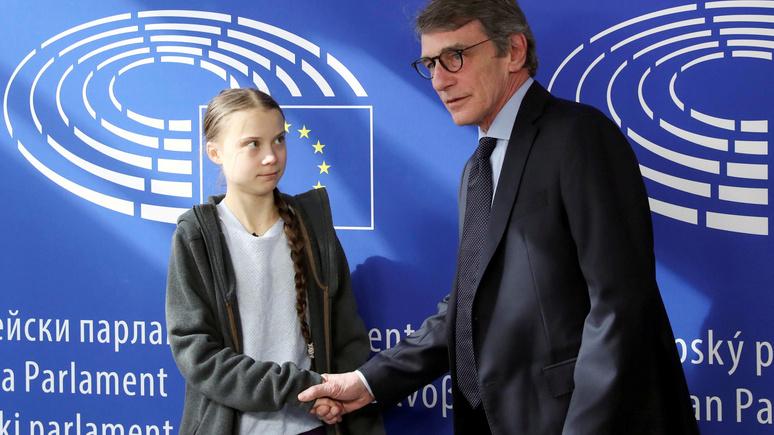 Daily Mail: «хотят предстать в лучшем свете» — Грета Тунберг раскритиковала политиков за селфи с ней