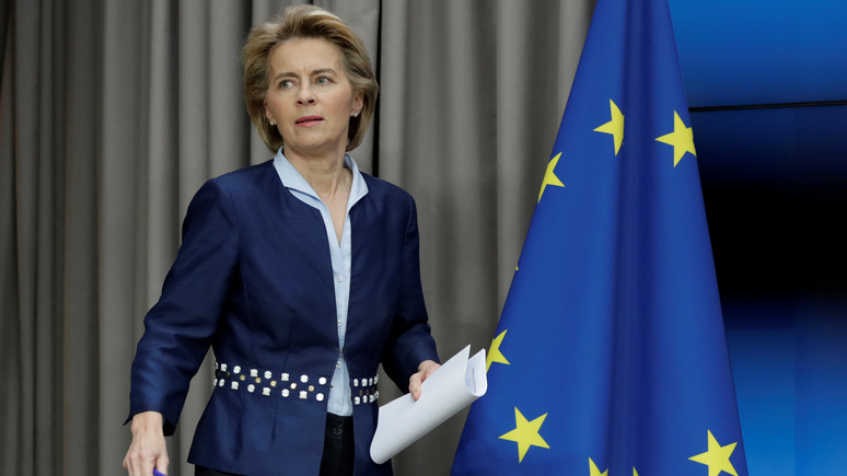 Фон дер Ляйен: председательство Германии — большая удача для ЕС