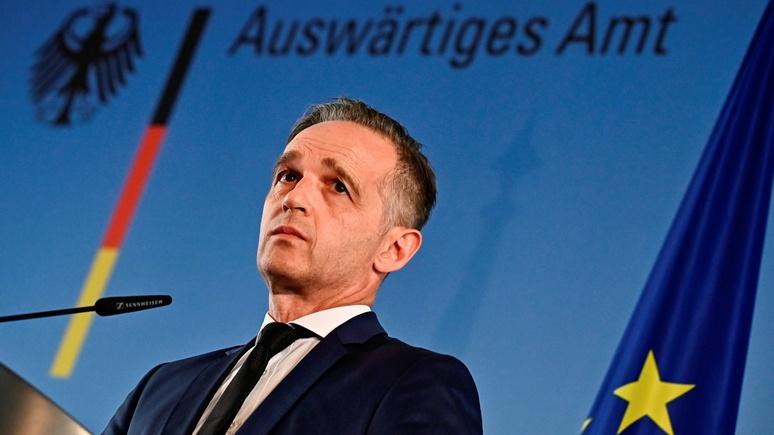Маас: нужно срочно что-то делать — отношения Германии и США уже не отвечают запросам обеих сторон