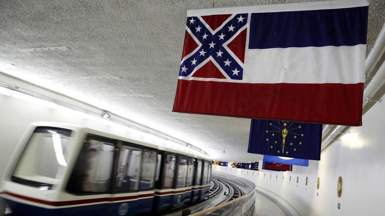 USA Today: штат Миссисипи спустит «конфедератский» флаг — но раздробленность останется