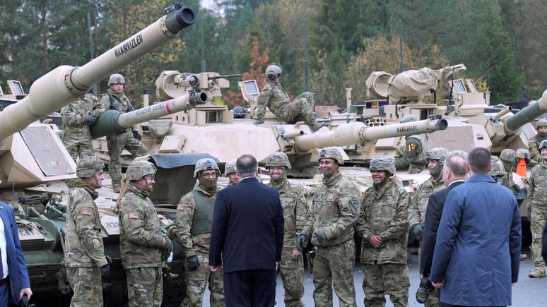 FAZ: вывод войск из Германии ослабит НАТО и сорвёт планы по устрашению России