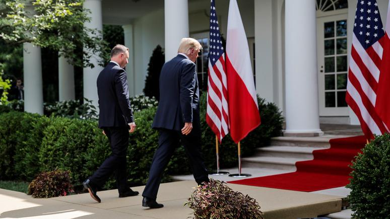 Польский политолог: только благодаря США Польша получит защиту в военной сфере и инвестиции