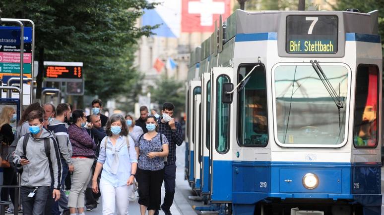 SRF: обязательное ношение масок в транспорте бьёт по кошельку швейцарцев