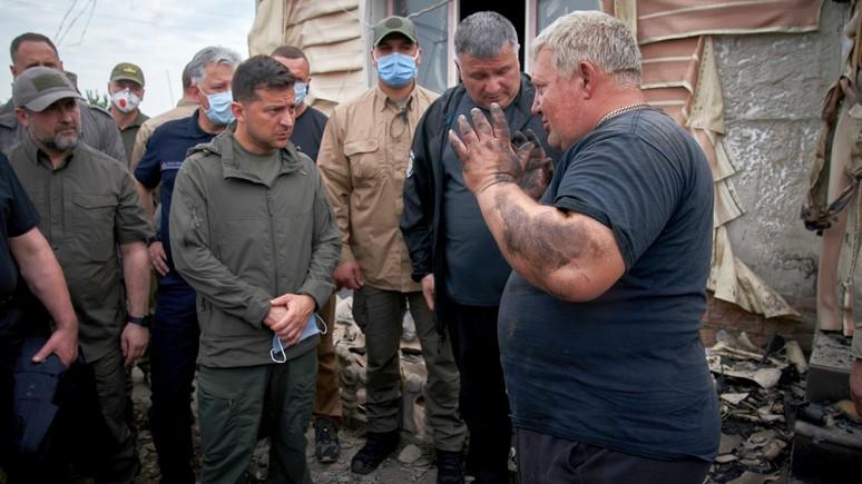NI: будущее Зеленского на Украине спустя всего год уже не кажется радужным