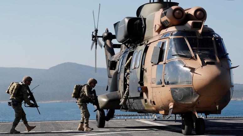 Die Welt: ради ресурсов Средиземного моря Турция готова даже воевать