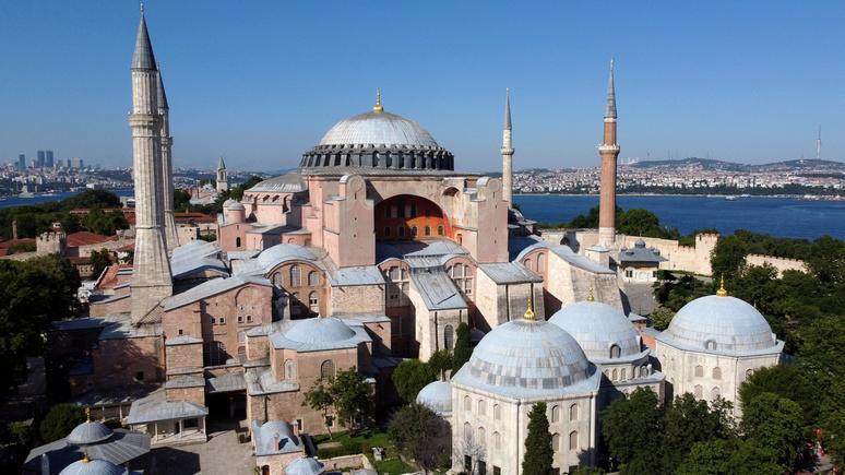 Bild: в бундестаге призвали прекратить переговоры с Турцией о вступлении в ЕС из-за собора Святой Софии