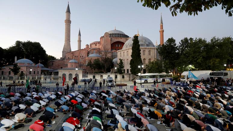 Le Figaro: превратив собор Святой Софии в мечеть, Эрдоган бросил новый вызов Европе