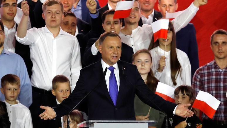 Handelsblatt: победа Дуды — разочарование для всех, кто надеялся на возвращение либерализма в Польше