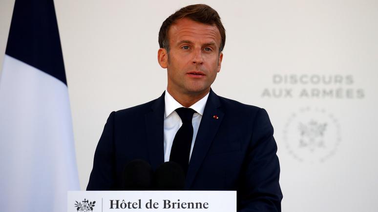 Le Monde: Макрон призвал Европу взять судьбу Средиземноморья в свои руки