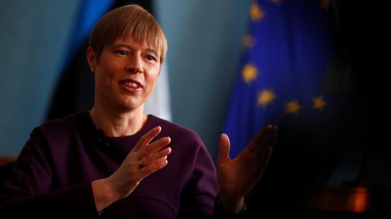 Welt: глава Эстонии призвала Европу активнее вооружаться против России и Китая