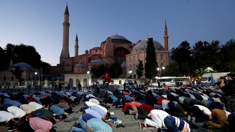 Le Figaro: Эрдоган превратил Святую Софию в мечеть, чтобы предстать защитником мусульман всего мира