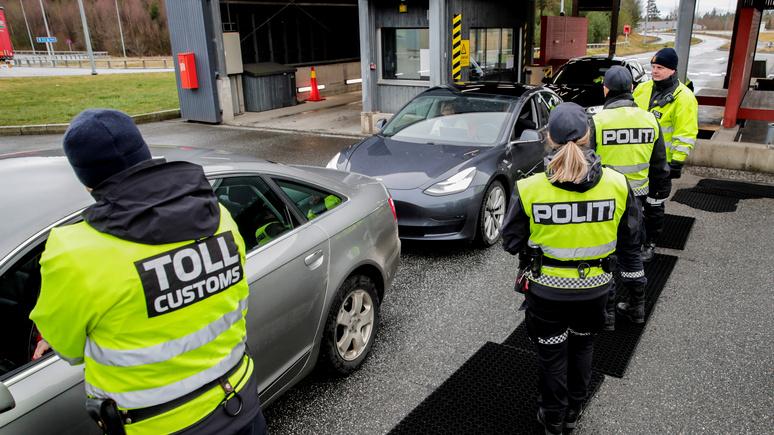 Le Monde: «словно железный занавес» — между Швецией и Норвегией снова появилась граница