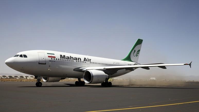 NYT: крутой вираж и досрочная посадка лайнера Mahan Air — новое обострение американо-иранских отношений