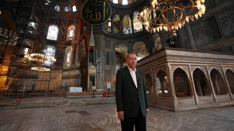 Le Figaro: решение по Айя-Софии поставило крест на мечтах о светской и либеральной Турции