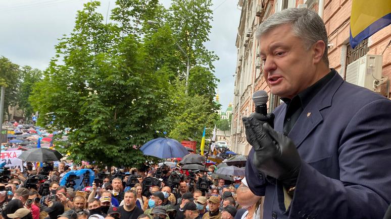 СТРАНА: партия Порошенко обвинила Зеленского в госизмене из-за перемирия в Донбассе