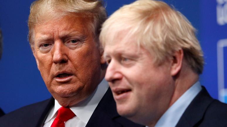 Times: Лондон молчит, но надеется на поражение Трампа на выборах