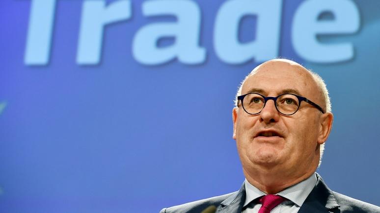 El País: еврокомиссар по торговле заявил о готовности ЕС наложить санкции на США