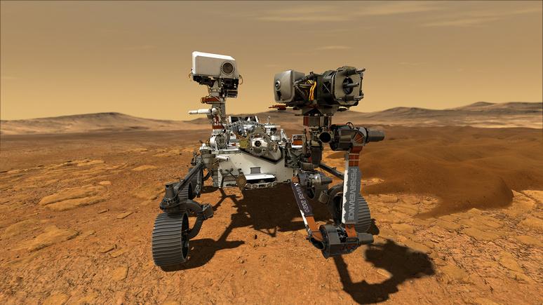 Ouest-France: была ли жизнь на Марсе — NASA отправит марсоход с вертолётом для исследования Красной планеты