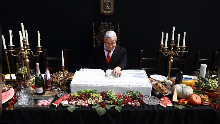 Times of Israel: Нетаньяху увидел в высмеивающей его статуе «угрозу распятия»