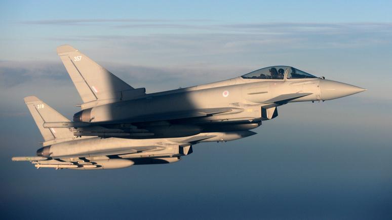 Daily Express: британская авиация перехватила российские истребители над Балтикой