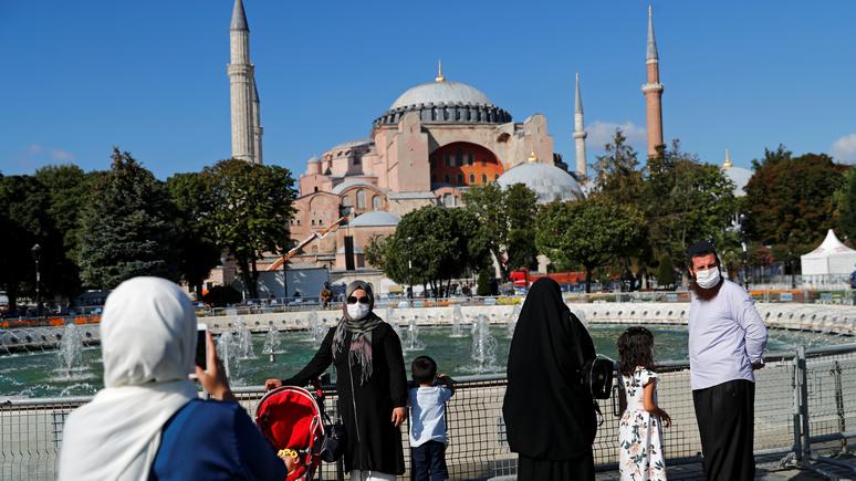 GCR: «ответ Эрдогану» — Россия поможет Сирии построить копию Собора Святой Софии
